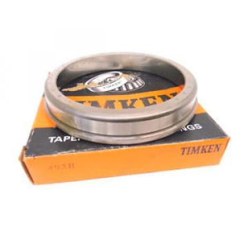 NEW SURPLUS TIMKEN 493B TAPERED ROLLER BEARING CUP, SINGLE CUP 493-B