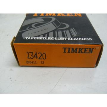 NEW TIMKEN 23420 TAPERED ROLLER BEARING 2.6875 X 0.875 INCH
