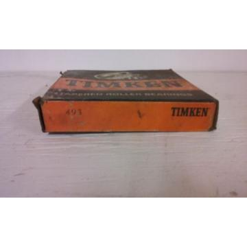 TIMKEN 493 TAPERED ROLLER BEARING