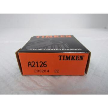 TIMKEN TAPERED ROLLER BEARING CUP A2126