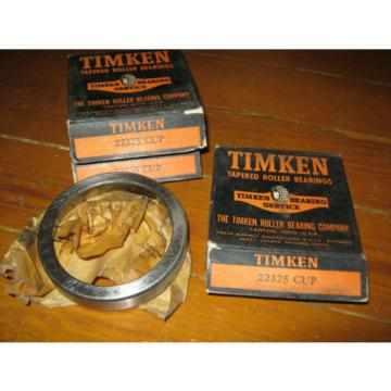 Vintage NOS Timken 22325 Tapered Roller Bearing Race / Cup