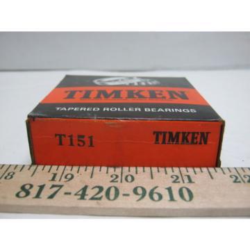 Timken Tapered Roller Bearing (T151)