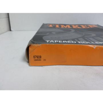 TIMKEN 67920 Tapered Roller Bearings Cup NEW IN BOX