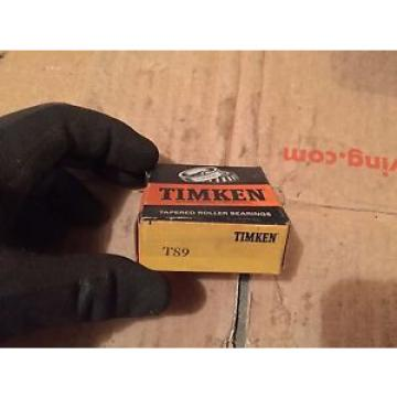 Timken T89, T-89 Tapered Roller Bearing NEW