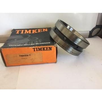 Timken 384ED Tapered Roller Bearing, Double Cup, Standard Tolerance, Straight Ou