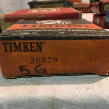 TIMKEN Tapered Roller Bearing 28579