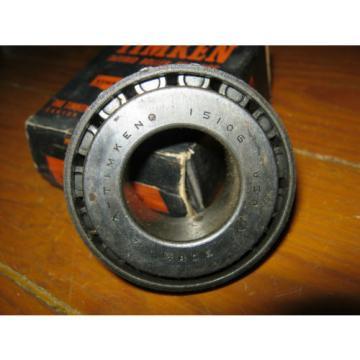 "Timken 15106 Tapered Roller Cone Bearing 1-1/16"" Inner Diameter 13/16"" Wide"