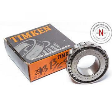 Timken 2580 Tapered Roller Bearing Cone - 1-1/4 in ID, 0.9983 in Cone Width