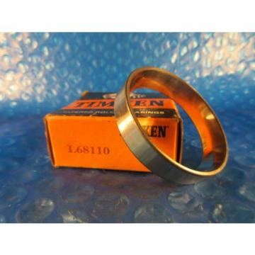 "Timken L68110, Tapered Roller Bearing Single Cup; 2.328"" OD x 0.4700"" Wide, USA"