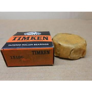 "1 NIB TIMKEN 15106 TAPERED ROLLER BEARING CONE 1-1/16"" INNER DIAMETER 13/16"" W"