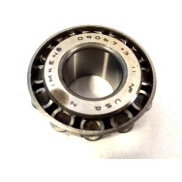 "Timken 09067#3 Tapered Roller Bearing Single Cone 0.7500"" ID X 0.7500"" Width"