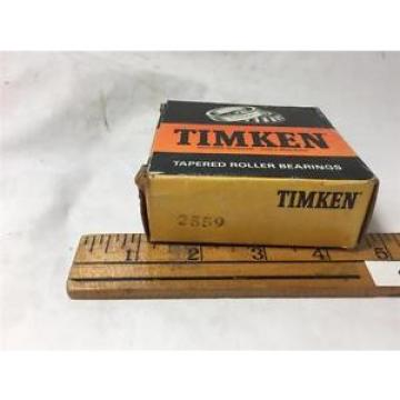 TIMKEN 2559 TAPERED ROLLER BEARING NEW OLD STOCK