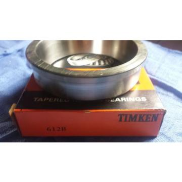 New Timken 612B tapered roller bearing cup