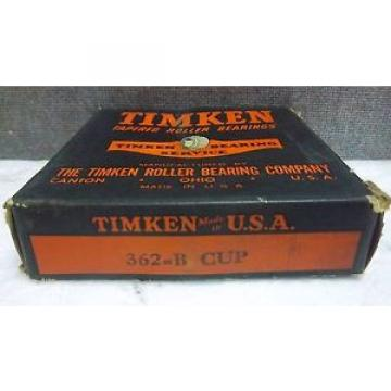 TIMKEN TAPERED ROLLER BEARING 362-B CUP NEW 362BCUP