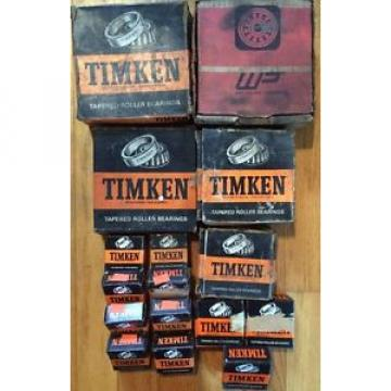 Lot Of TIMKEN Tapered ROLLER BEARINGS