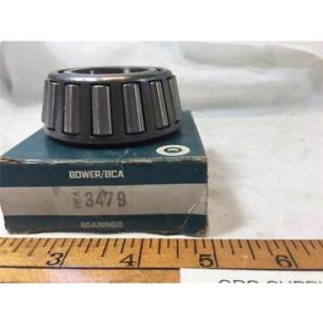 BOWER/BCA TAPERED ROLLER BEARING 3479 BEARING NEW OLD STOCK