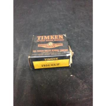 Timken Tapered Roller Bearing 1931 NOS