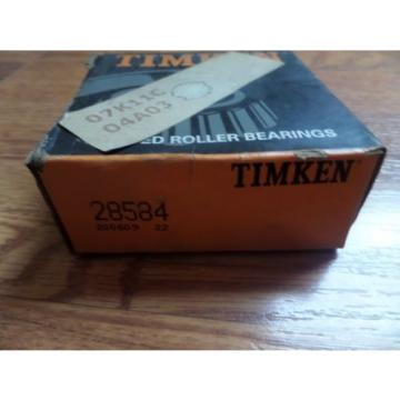 Timken Tapered Roller Bearing 28584 New
