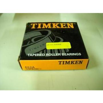 Timken Tapered Roller Bearing 552A 4.8750 OD 1.875 width