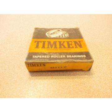 TIMKEN TAPERED ROLLER BEARING 453 CUP