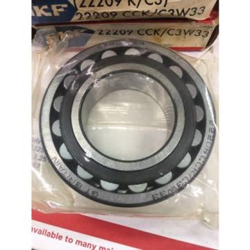 Skf 22209 Cck/C3W33 Spherical Roller Bearing - Tapered Bore
