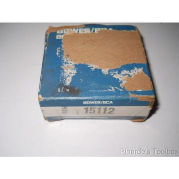 """Bower/BCA Tapered Roller Bearing Cone & Cup, 1-1/8"""" Bore, 15112 15249"""