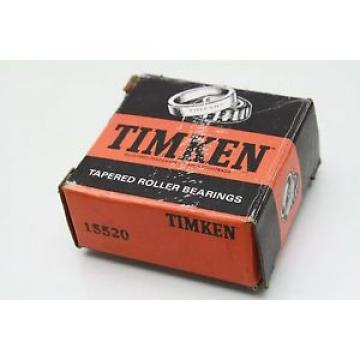 """Timken 15520 Tapered Roller Ball Bearing Cup 2.25"""" OD 2-1/4"""""""