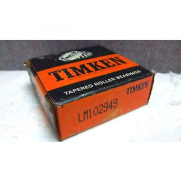 TIMKEN TAPERED ROLLER BEARING LM102949 NEW LM102949