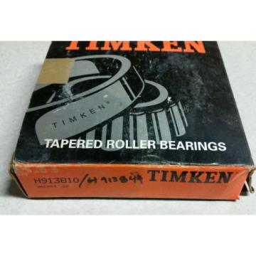 "Timken H913849/H913810 Tapered Roller Bearing Cone - 2-3/4"" ID, with cup"