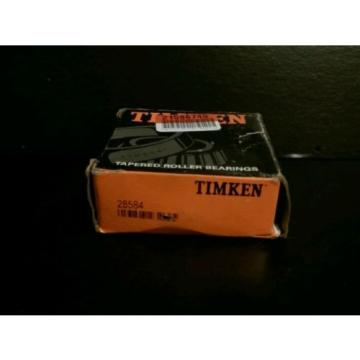 Timken Tapered Roller Bearing # 28584 New