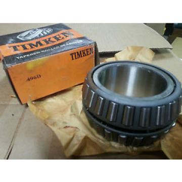 Timken 496D Tapered Roller Bearing, Double Cone, Standard Tolerance, Straight Bo