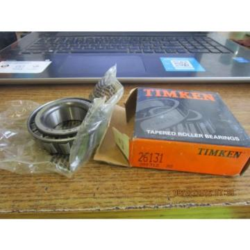 NEW TIMKEN TAPERED ROLLER BEARING 26131