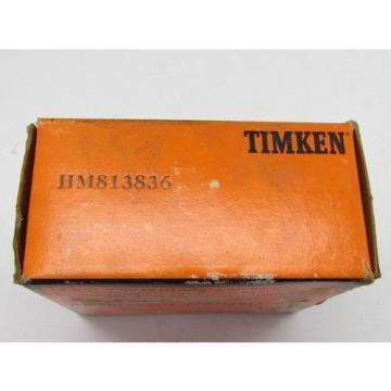Timken Tapered Roller Bearing HM813836 Cone NIB