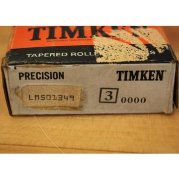 Timken LM501349 Tapered Roller Bearing - NEW