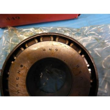 NEW TIMKEN 449 TAPERED ROLLER BEARING CONE INDUSTRIAL BEARINGS MADE USA
