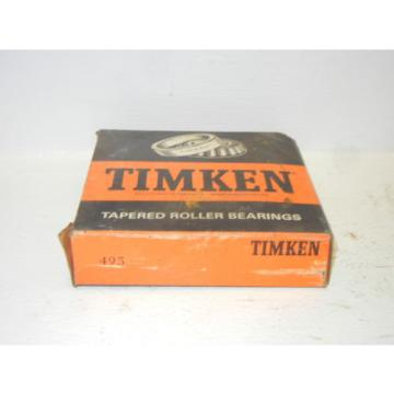 TIMKEN 495 NEW TAPERED ROLLER BEARING 495