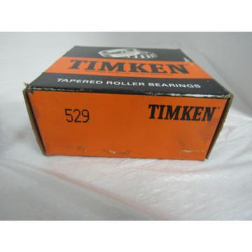 TIMKEN TAPERED ROLLER BEARINGS 529