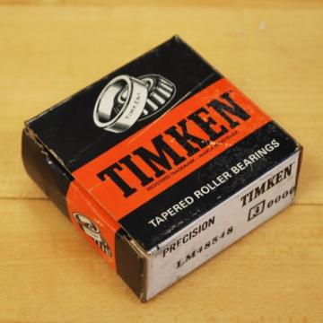 Timken LM48548 Taper Roller Bearing. - NEW