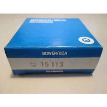 15113 BOWER TAPERED ROLLER BEARING