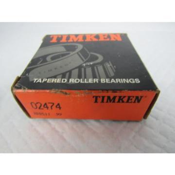 TIMKEN TAPERED ROLLER BEARING 02474
