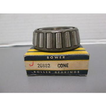 26882 BOWER TAPERED ROLLER BEARING