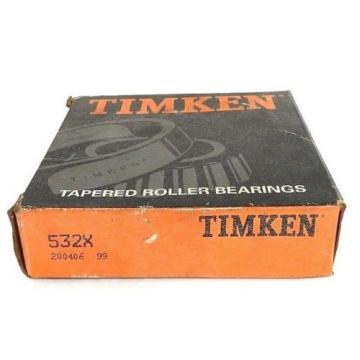 NIB TIMKEN 532X ROLLER BEARING TAPERED SINGLE CUP 4.25 X 1.125INCH, 200406 99