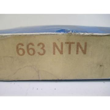 NTN 663 TAPERED ROLLER BEARING CONSTRUCTION MANUFACTURING NEW