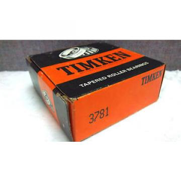 TIMKEN TAPERED ROLLER BEARING 3781 NEW 3781
