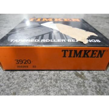 NEW Timken 3920 200202 Tapered Roller Bearing Cup