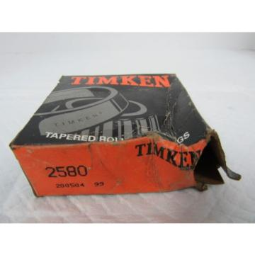 TIMKEN TAPERED ROLLER BEARING 2580