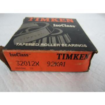 TIMKEN TAPERED ROLLER BEARING 32012X 92KA1