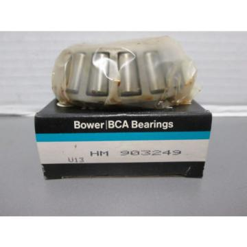 HM 903249 BOWER TAPERED ROLLER BEARING
