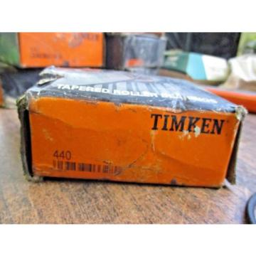 NEW TIMKEN TAPERED ROLLER BEARING 440