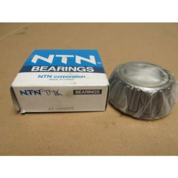 "NIB NTN 4T-HM88649 TAPERED ROLLER BEARING 4THM88649 13/8"" 35 MM BORE 1"" WIDE NEW"